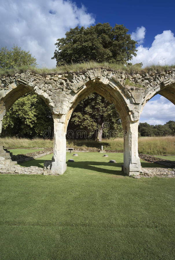 Abadía de Hailes foto de archivo libre de regalías