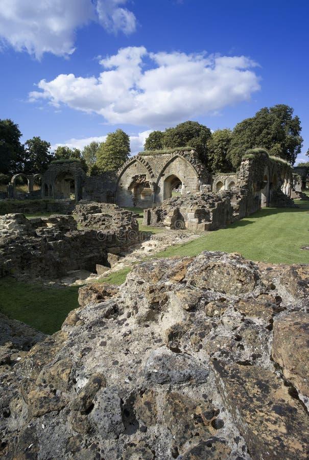 Abadía de Hailes imagen de archivo