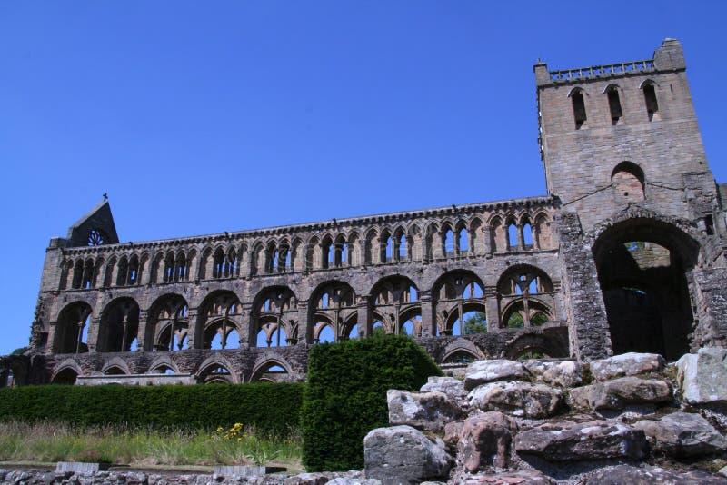 Abadía de Jedburgh en Jedburgh Escocia foto de archivo