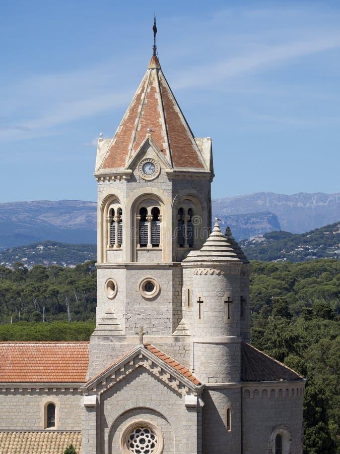 Abadía de Lérins, Francia imagen de archivo