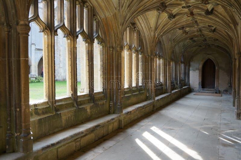Abadía de Laycock fotos de archivo