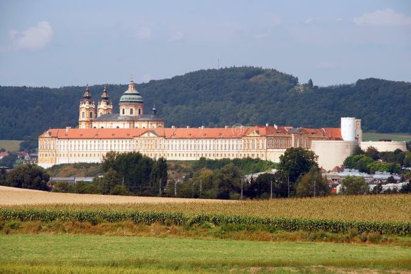 Abadía de Melk fotos de archivo libres de regalías