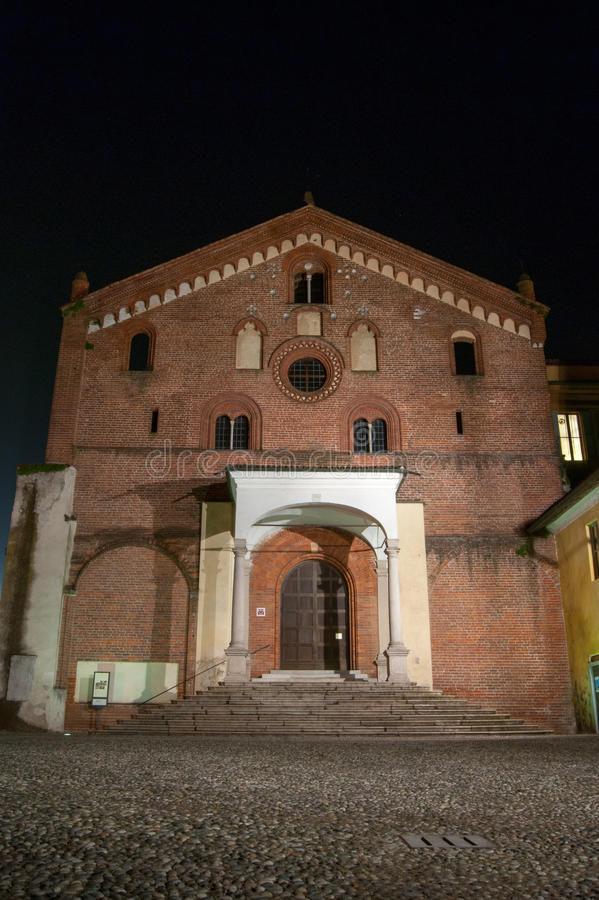 Abadía de Morimondo fotos de archivo