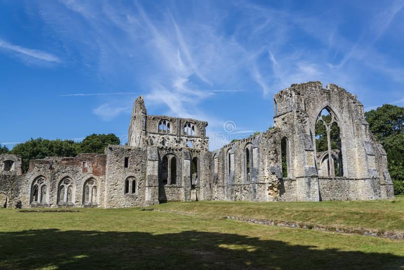 Abadía de Netley, Hampshire, Inglaterra, Reino Unido foto de archivo libre de regalías