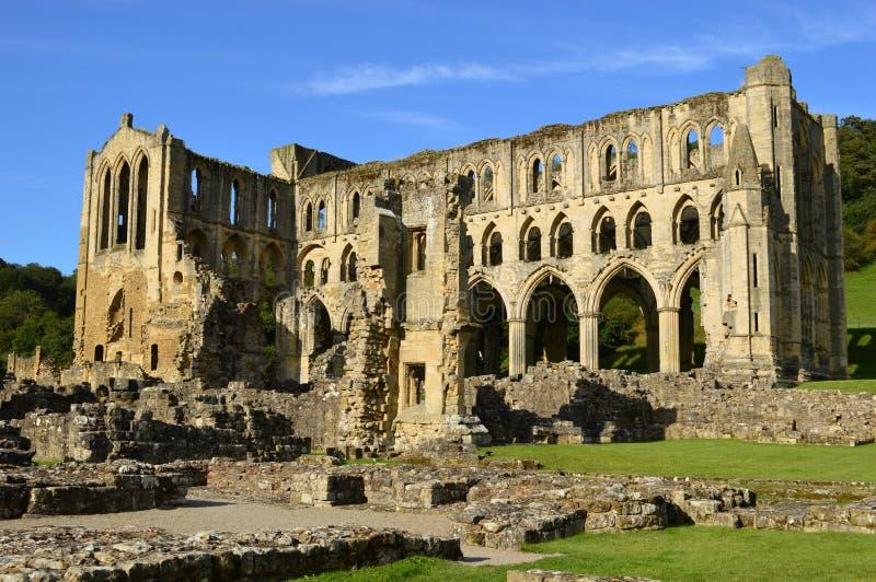 Abadía de Rievaulx imágenes de archivo libres de regalías