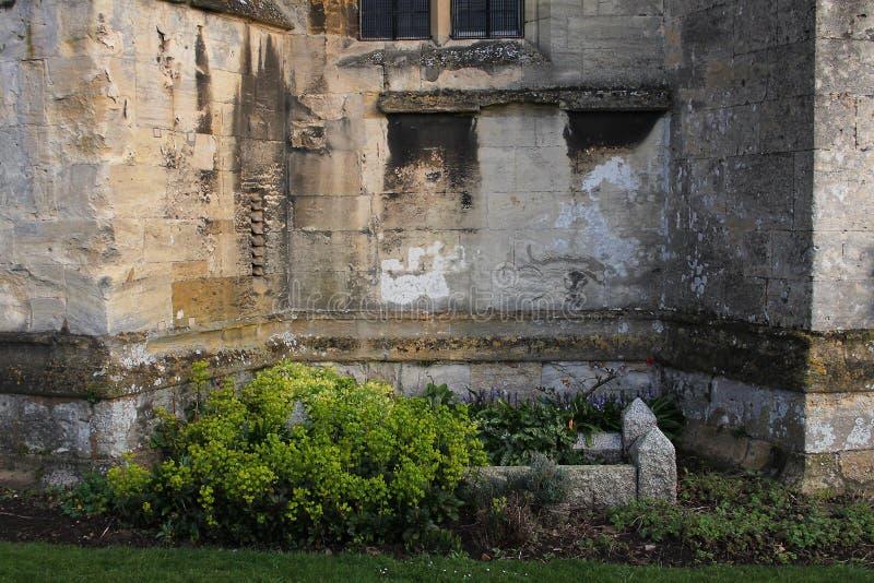 Abadía de Tewkesbury, Inglaterra, detalle arquitectónico fotos de archivo