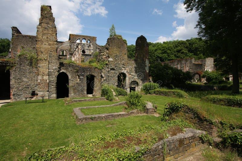 Abadía de Villers fotos de archivo