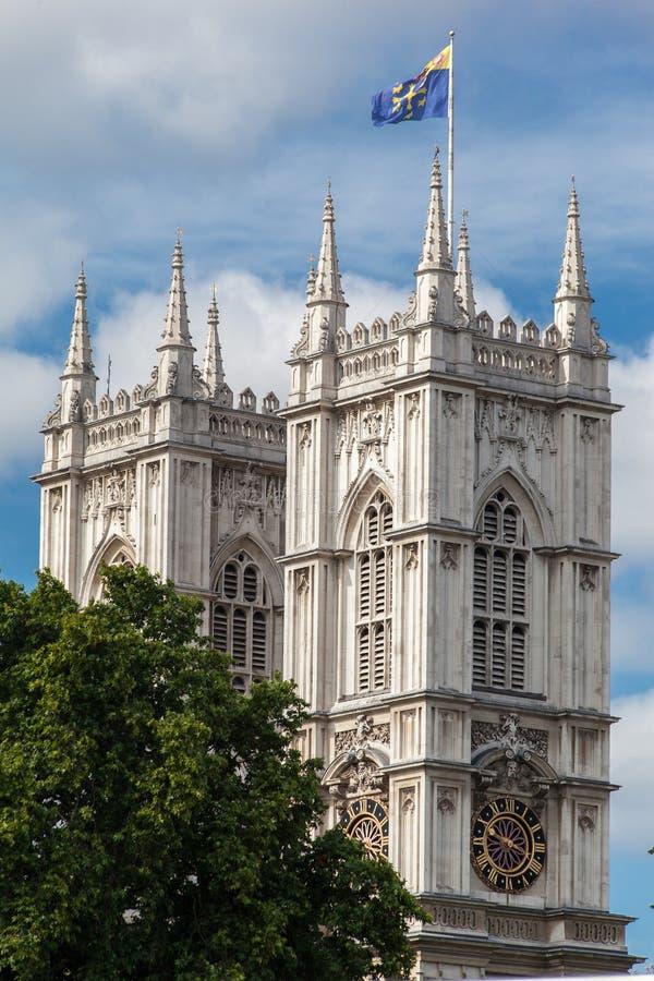 Abadía de Westminster Londres fotos de archivo