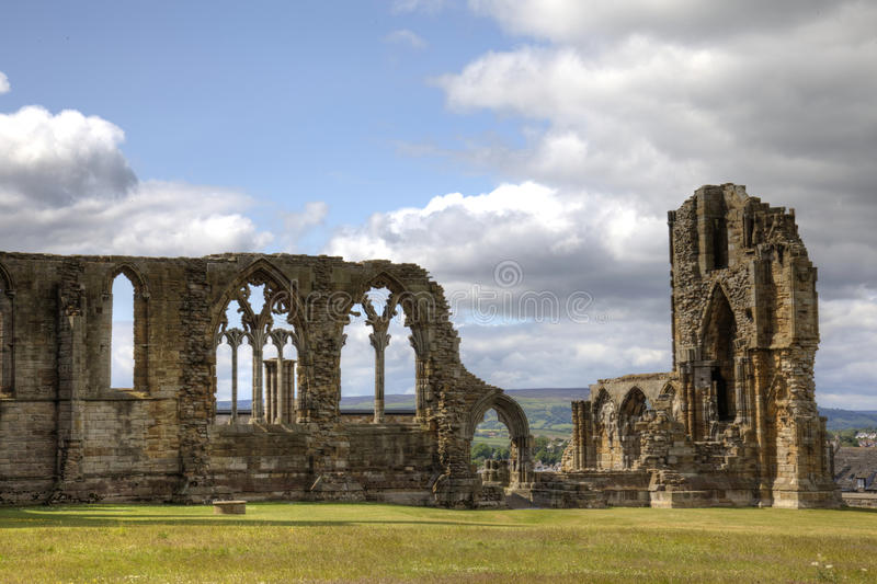 Abadía de Whitby fotos de archivo libres de regalías