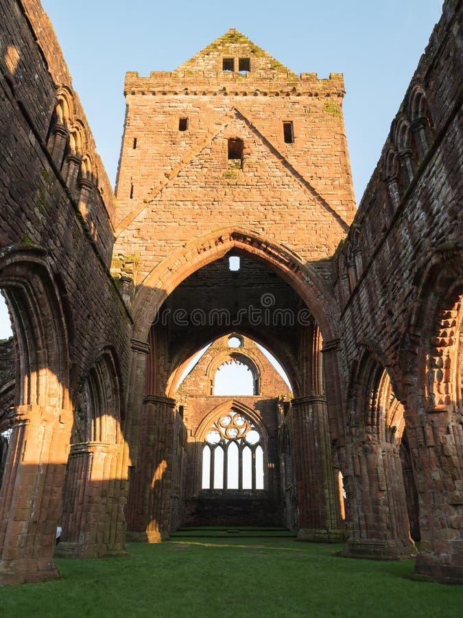 Abadía del amor, Escocia imagen de archivo libre de regalías