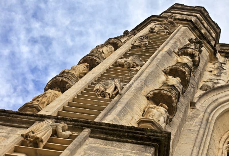 Abadía del baño, Angelic Stairway, Inglaterra fotografía de archivo