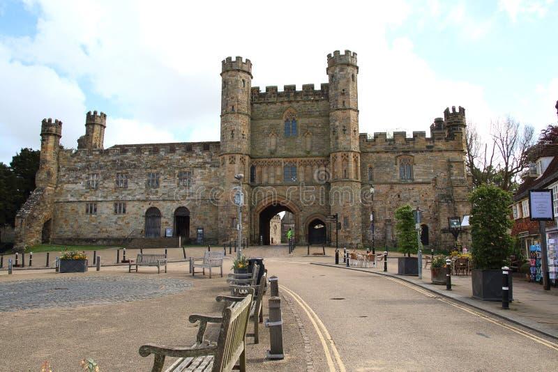 Abadía en batalla, Sussex, Inglaterra de la batalla foto de archivo libre de regalías