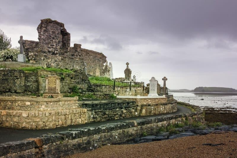 Abadía y cementerio franciscanos Ciudad de Donegal Condado Donegal irlanda fotografía de archivo libre de regalías