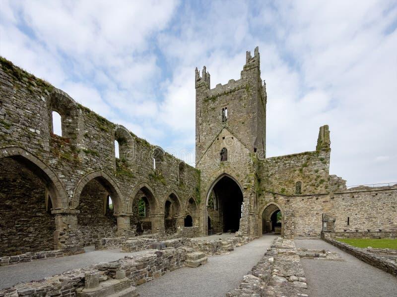 Abad?a de Jerpoint cerca de Thomastown, condado Kilkenny, Irlanda fotos de archivo libres de regalías