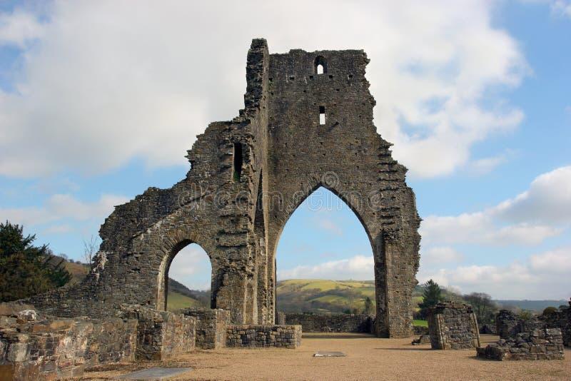 Abadia antiga imagem de stock