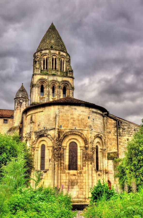 A abadia das Sainte-Marie-DES-damas em Saintes foto de stock