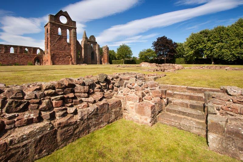 Abadia de Arbroath, Angus, Escócia imagem de stock royalty free