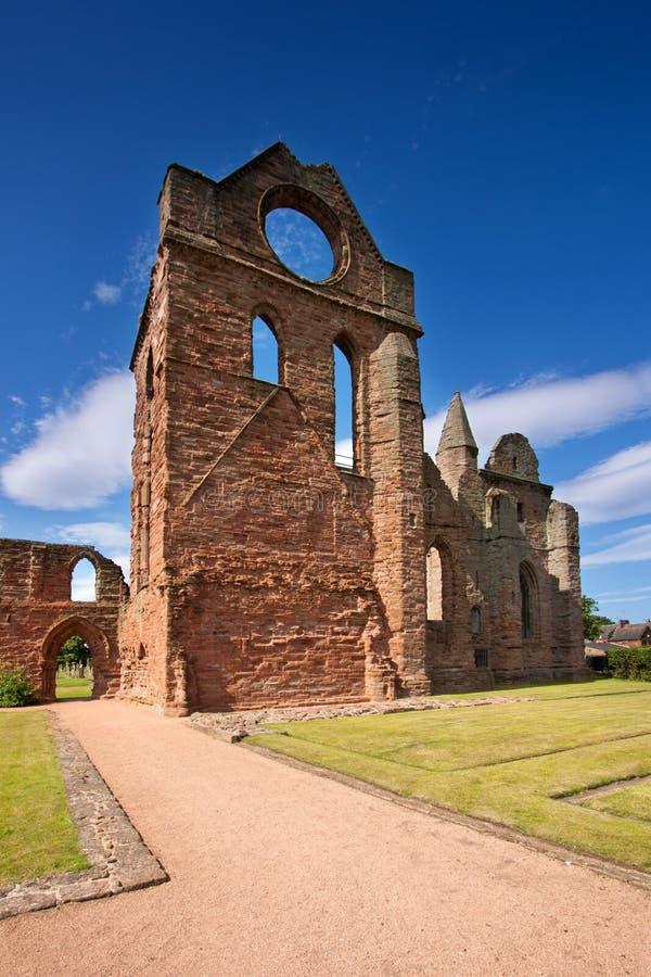 Abadia de Arbroath, Angus, Escócia fotografia de stock
