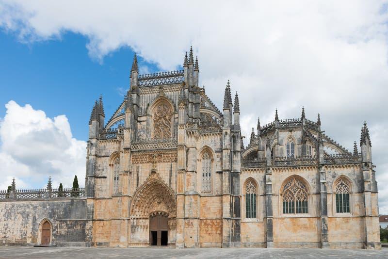 Abadia de Batalha Santa Maria da Vitoria Dominican, Portugal fotografia de stock