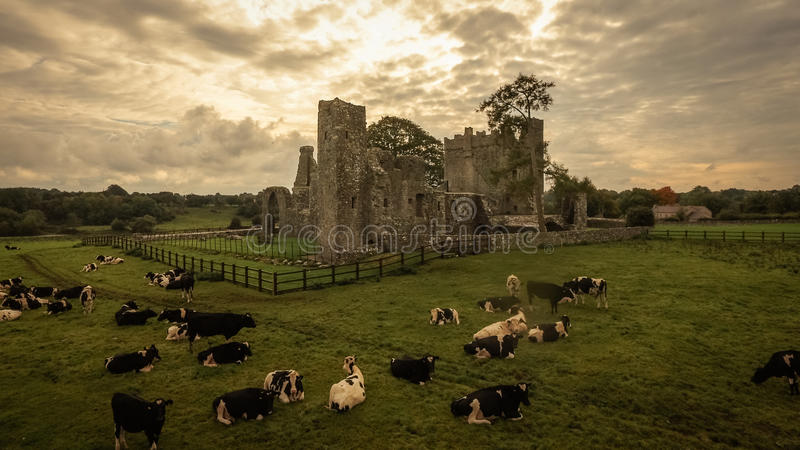 Abadia de Bective guarnição condado Meath ireland foto de stock
