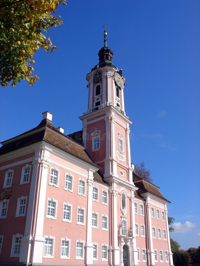 Abadia de Birnau fotos de stock