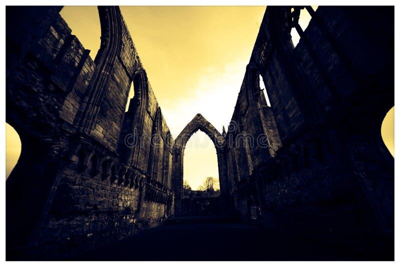 Abadia de Bolton fotos de stock royalty free
