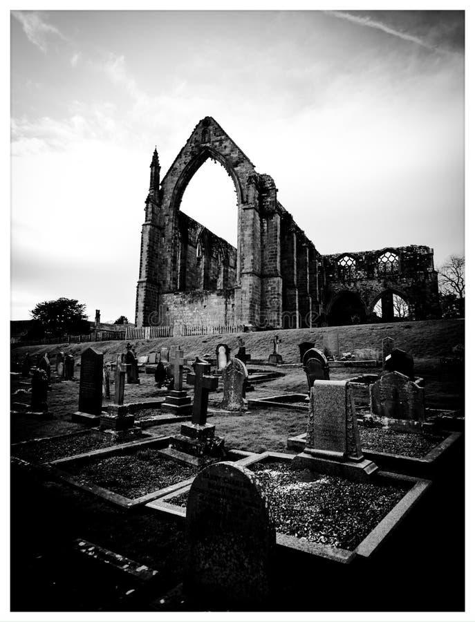 Abadia de Bolton imagem de stock royalty free