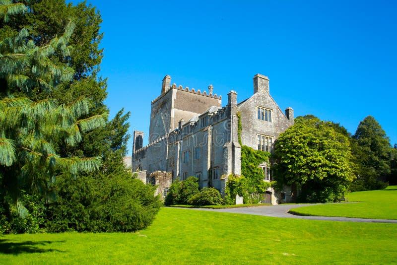 Abadia de Buckland no vale de tamar imagens de stock royalty free