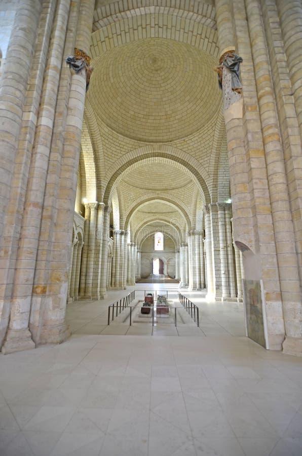 Abadia de Fontevraud fotos de stock