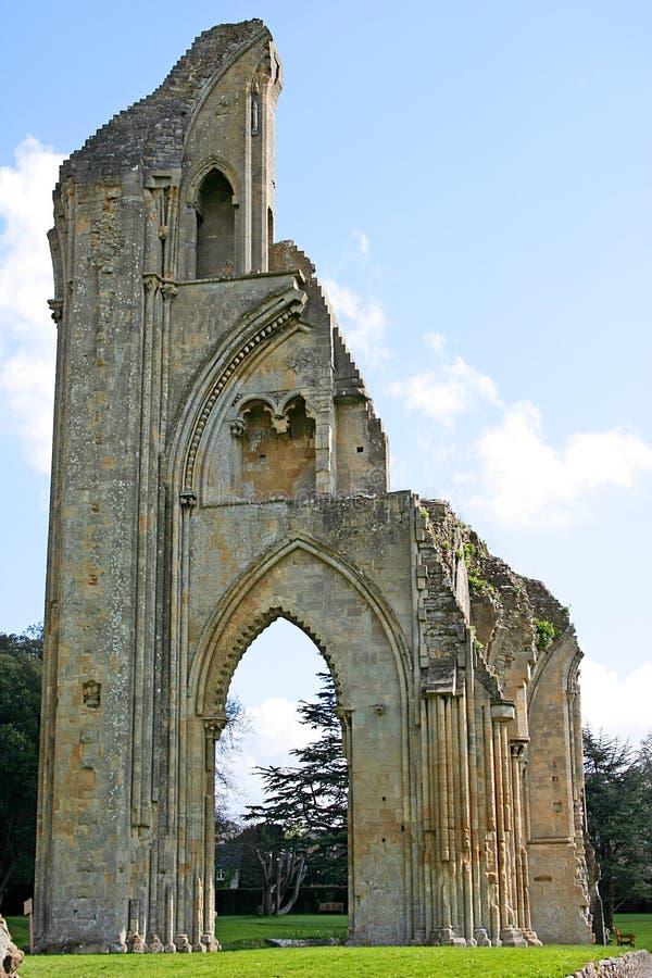 Abadia de Glastonbury foto de stock royalty free