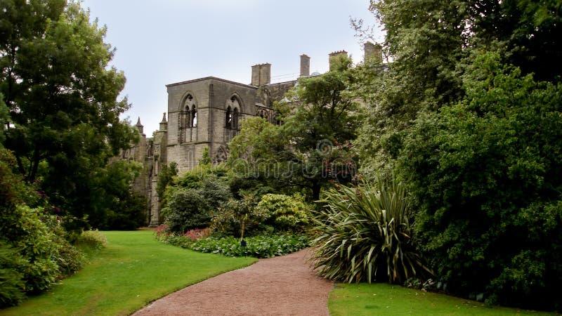 Abadia de Holyrood fotografia de stock