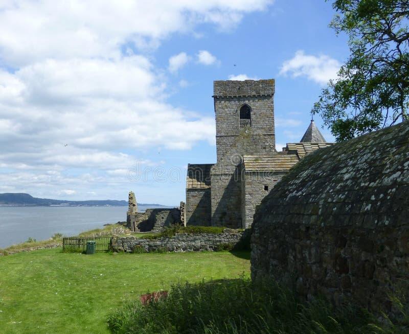 Abadia de Inchcolm imagem de stock royalty free