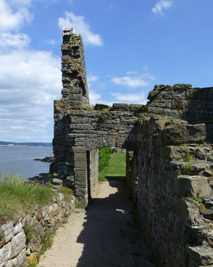 Abadia de Inchcolm imagens de stock royalty free