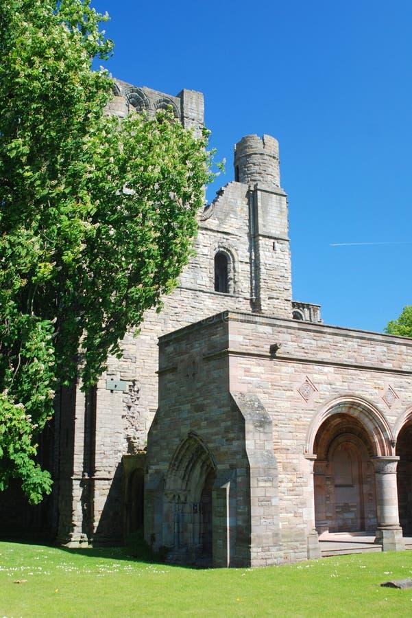 Abadia de Kelso fotos de stock royalty free
