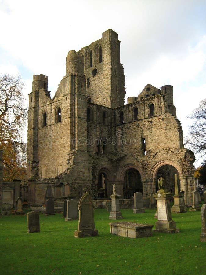 Abadia de Kelso fotografia de stock