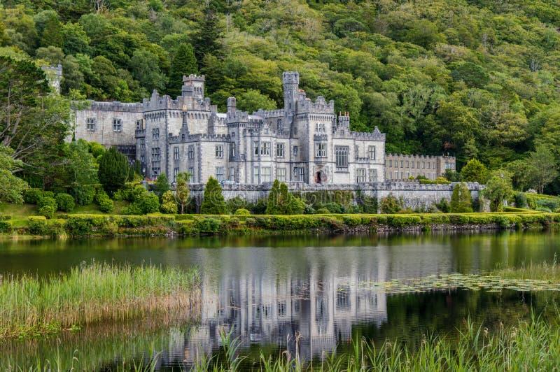 Abadia de Kylemore, Ireland fotos de stock royalty free