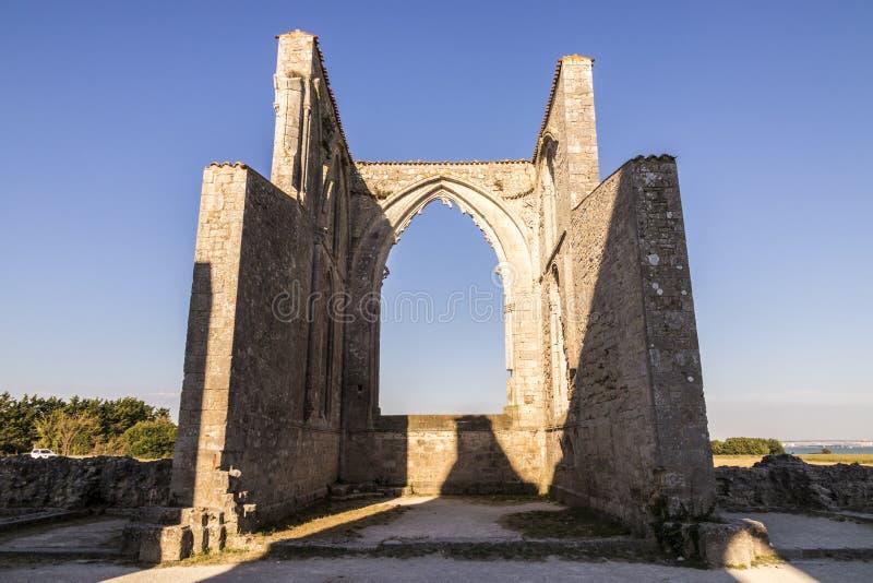 Abadia de Les Chateliers, França fotos de stock royalty free
