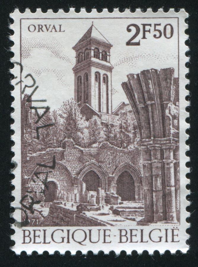 Abadia de Notre Dame Orval imagens de stock royalty free