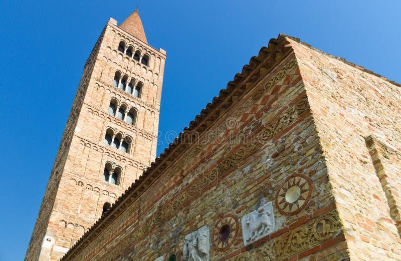 A abadia de Pomposa de Codigoro foto de stock royalty free