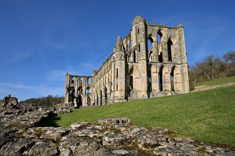 Abadia de Rievaulx fotos de stock
