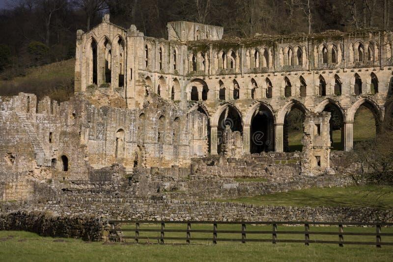 Abadia de Rievaulx - Yorkshire - Inglaterra fotos de stock