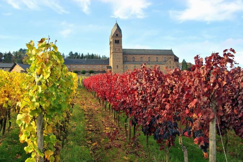 Abadia de Ruedesheim Eibingen imagem de stock royalty free