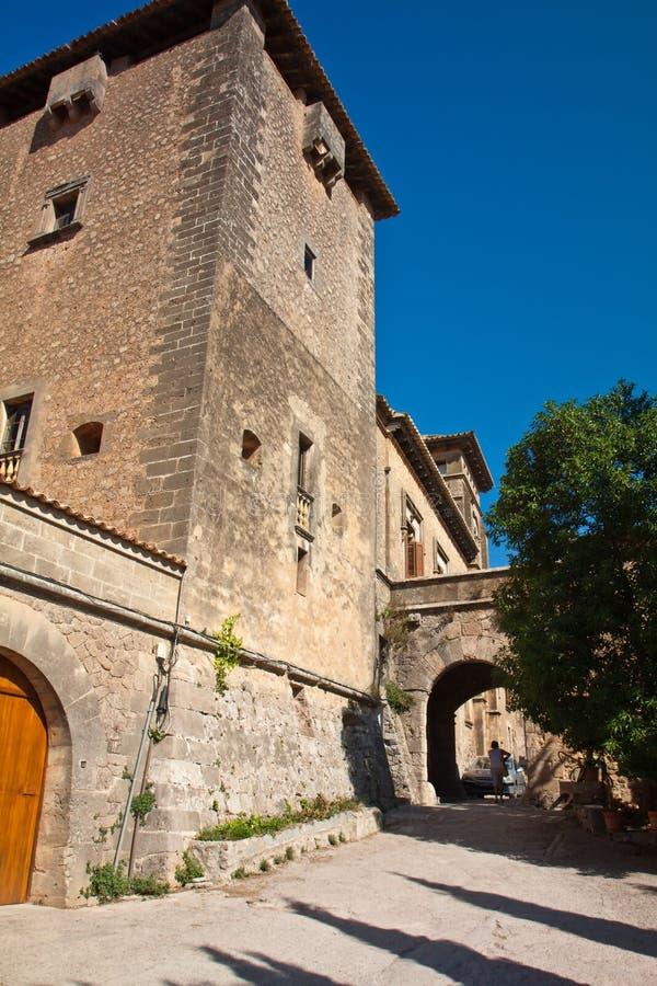 Abadia de Valdemossa imagem de stock