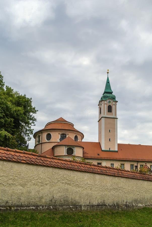 Abadia de Weltenburg, Alemanha fotos de stock royalty free