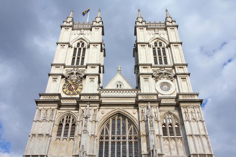 Abadia de Westminster fotos de stock royalty free