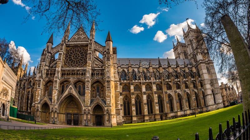 Abadia de Westminster em Londres foto de stock royalty free