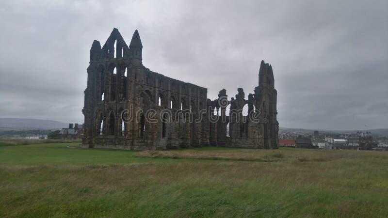 Abadia de Whitby imagem de stock