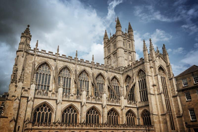 Abadia do banho, Somerset, Reino Unido imagem de stock