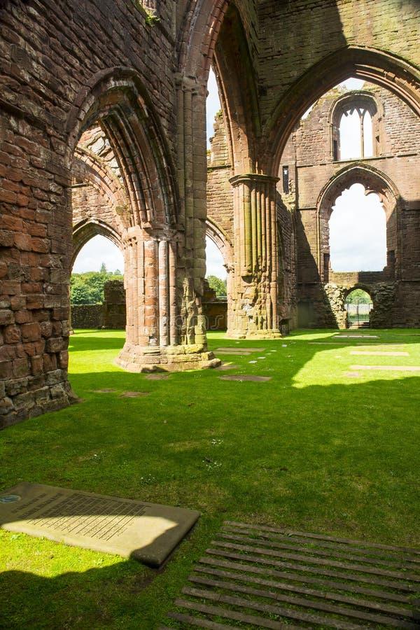 Abadia do querido, Dumfriesshire, Escócia fotografia de stock royalty free