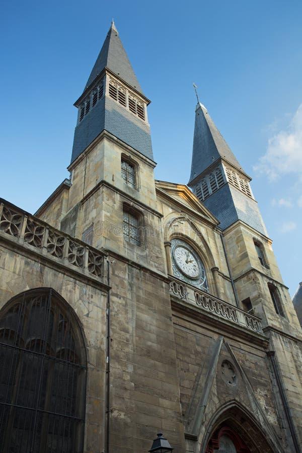 Abadia do Saint Nicolas de Eglise foto de stock royalty free